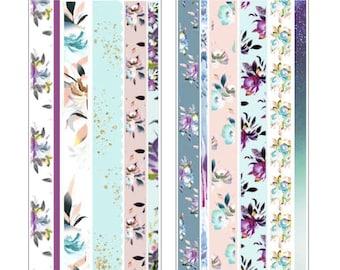 Stardust Washi Strips- 3 Sheets