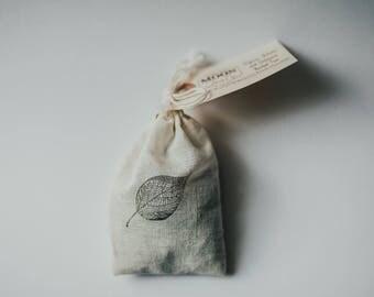 Sleep Sachets With Organic Lavender - Leaf