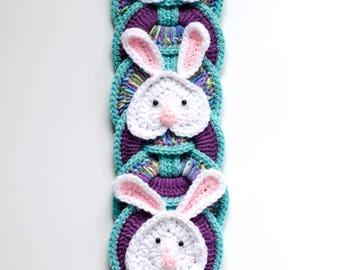 Easter Bunny CROCHET PATTERN instant download -  Crochet Decoration, Easter Bunny, Easter Crochet Pattern, Spring Crochet