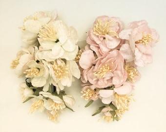 Carabella Rose Posy, velvet flowers. velvet rose posy. rose posy. millinery flowers. flowers for craft. velvet roses for art projects.
