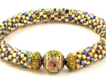 50 OFF Cloisonne Bead Crochet Bracelet Kit by Ann Benson