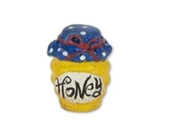 Fairy Garden  - Mini Honey Jar - Miniature
