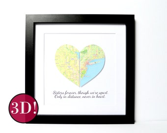 Christmas Gift for Friend- Christmas Gift for Sister, Christmas Gift Ideas, Long Distance Family, Unique Christmas Gifts, Friendship Gift