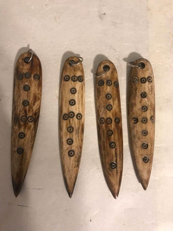 Ethiopian Medicine Bone Stick Pendants Ethiopa Africa Necklaces Pendants Jewelry Medicine Healing Power Protection Pendants