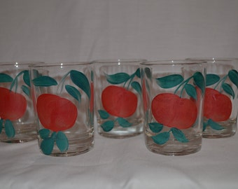 Apple Juice Glasses