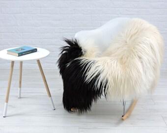 Luxury genuine Icelandic sheepskin rug natural color single 145cm x 100cm, G531