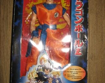 Dragonball Z goku super sayan action figure figurine NOS new old stock