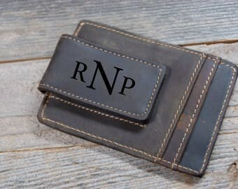QUANTITY DISCOUNTS, Cowhide leather money clip,personalized leather money clip,personalized money clip,leather money clip,credit card wallet