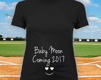 Announcement Shirt 2017 - Pregnancy Announcement Shirt, Expectant Mom Gift, Gifts for Expectant Mothers, Baby Announcement CT-1203
