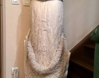 Vintage brand LINEA RAFFAELLI wedding dress