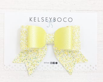 Yellow Samantha Bow