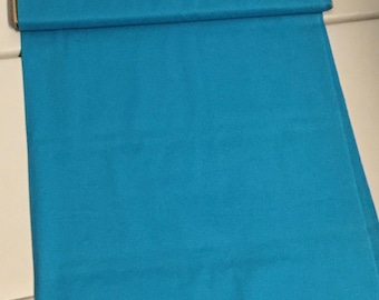 100% Cotton in Blue, an amazing weight and feel, Sold by the Yard, 45 inches wide