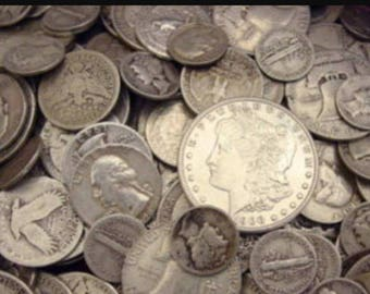 US 90% silver coins 100 dollars face value