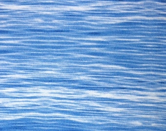 RJR - WATER (Blue) 100% Cotton Premium Fabric - sold by 1/2 yard landscape art