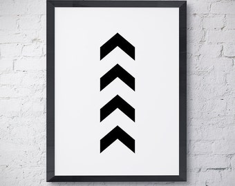 One Direction Arrows Instant Download Printable Print