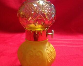 Avon Parlor Lamp, Victorian Style Lamp, Avon Collectible