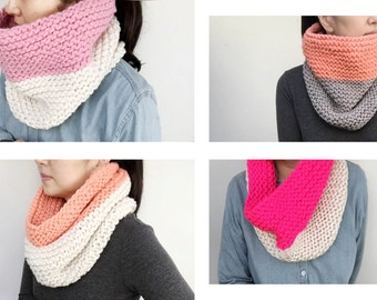 Two Tone Neck Warmer