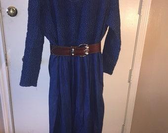 VINTAGE CIRCLE T Denim Dress Size XL