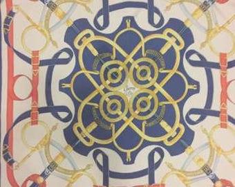 Hermes scarf, shawl '70 silk