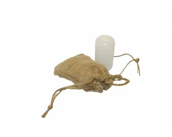 Natural Alum Deodorant Stone 60g with Hanger and Bag