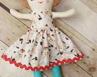 CUSTOM Doll, Handmade Doll, Soft Doll, Rag Doll, Doll, Cloth Doll, Personalized Doll, Fabric Doll, Custom Fabric Doll, Birthday Gift
