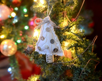 Sweater Christmas Tree Ornament