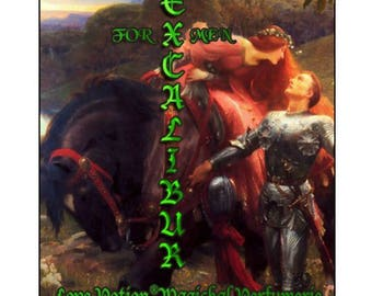 Excalibur - for Men - Handcrafted Fragrance - Love Potion Magickal Perfumerie