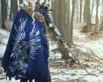 Grey Warden cloak cosplay larp