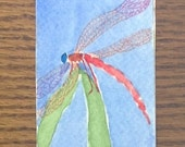 Bookmark, Dragonfly Water...