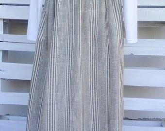 Long linen skirt, summer versatile skirt, bohemian style, FREE SHIPPING for GREECE
