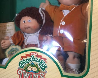 Cabbage Patch Twins c1984