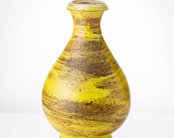 Yellow Sake Pitcher
