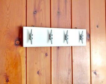 Wall Mounted Boat Cleat Towel Hangers, Beach House, Lake House, Nautical  Coastal Decor Part 65