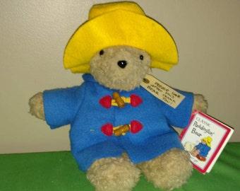 "Vintage 12"" Plush Paddington Bear by Eden"