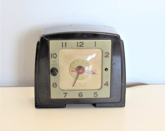 Vintage GE Tune-A-Larm Electric Clock