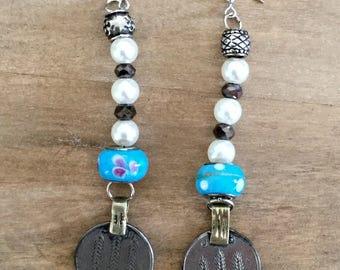 Earrings/Earrings/tribalfusion/bellydance/ethnic/handmade