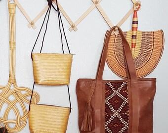 Wicker purse  purse boho baby purse toddler purse handbag crossbody small purse summer crossbody