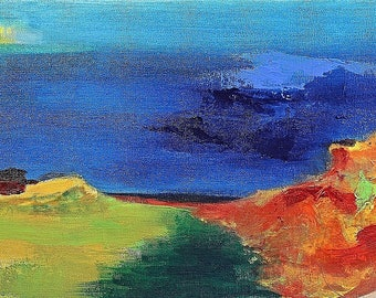 Original Art LANDSCAPE painting - LANDSCAPE #4