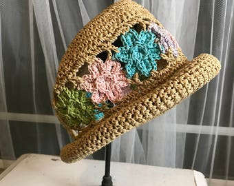 Beautiful Spring Crochet Child's Hat