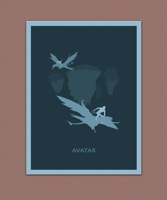 Avatar 2 Poster: Avatar Movie Poster Illustration. Home Decor Media Room