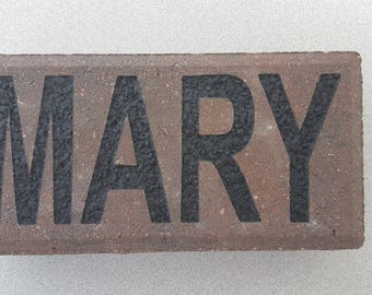 Custom Engraved Family Name Brick!