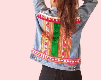 Hmong Tribal Vintage Jacket