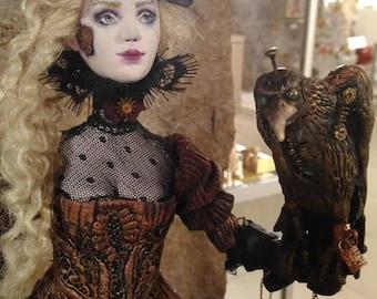 OOAK Art Doll The magic flute  Papagena