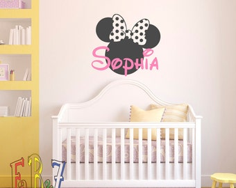 Baby Name Wall Art baby name wall decal | etsy