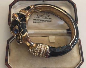Vintage Panther costume bracelet, Fantastic item