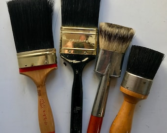 Vintage artist's brushes***FREE SHIPPING***