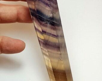 Rainbow Fluorite Double Point Wand