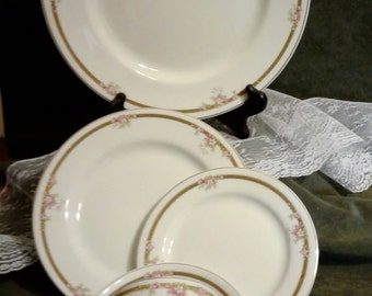 Johnson Brothers, 5pc Place Setting c.1913
