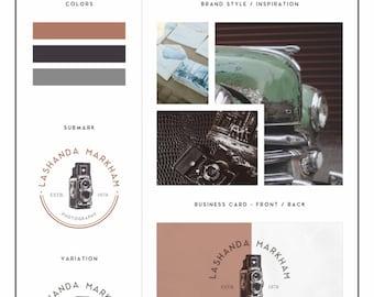 Branding Kit, Branding Package, Photography Logo, Branding Kit Design, Blog Branding Kit, Business Logo, Business Branding, Logo Design