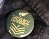 "Singular Captain America's HOWLING COMMANDOS Inspired 2.25"" Pinback Button"